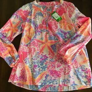 NWT Lilly Pulitzer Elsa Top! Size small!